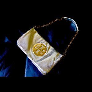 Golden Tory Burch Shoulder Bag